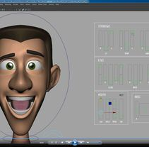 Character Rigging, Malcolm. A 3D, Animation, and Character Design project by Yolanda Afán         - 02.09.2015