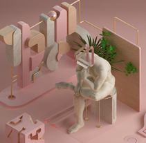 Pensador. Un proyecto de 3D de Ariel Palanzone         - 12.09.2015