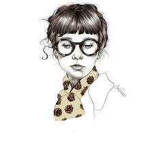Winter. Un proyecto de Ilustración de Elena Pancorbo - 05-09-2015