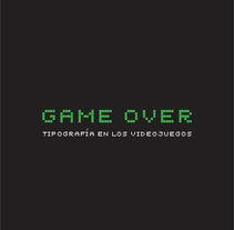 Game Over. A Graphic Design project by Lara Salmerón         - 05.04.2010