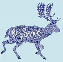 Ilustración SOY AMOR-ERES SALVAJE para El dios de los tres. A Design, Illustration, and Graphic Design project by Javier Navarro Romero         - 14.09.2015