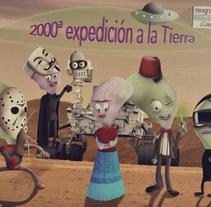 """Os presento mi proyecto...   """"Los Visitadores"""". Um projeto de Ilustração e Design de personagens de Juan Diego - 08-12-2015"""