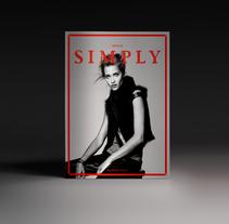 Simply the mag #4. Un proyecto de Dirección de arte, Diseño editorial, Diseño gráfico y Moda de Pablo Abad - Martes, 10 de febrero de 2015 00:00:00 +0100