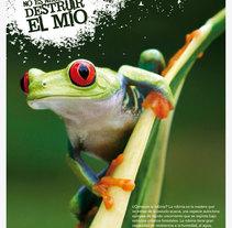 Fustakia: campaña gráfica para marca de parquet ecológico. Un proyecto de Dirección de arte de Pablo Elorriaga Grande         - 14.04.2009