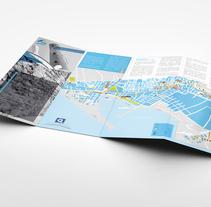 Mapa turístico de Adra. Um projeto de Br, ing e Identidade e Design gráfico de Pablo Valverde          - 30.04.2015