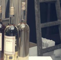 ZEREJ - Diseño para colección de vinos de Jerez. A Packaging project by María Fernández         - 21.09.2015