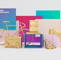 GOLDEN INSPIRATIONS. A 3D, Art Direction, and Advertising project by TAVO  - Sep 22 2015 12:00 AM