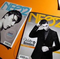 fanzine NEO2. Diseño Tipografía y Maquetación.. Un proyecto de Diseño editorial y Diseño gráfico de VONDEE  - 21-09-2015