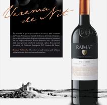 Raimat: campaña gráfica para gama de vinos. Un proyecto de Dirección de arte de Pablo Elorriaga Grande         - 09.05.2011