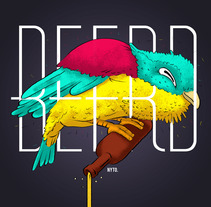 beerd. Um projeto de Ilustração e Design gráfico de Nyto Sandoval         - 28.09.2015