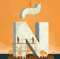 Revista Foment del Treball / Otoño 2015. A Design&Illustration project by Oscar Giménez - 09.30.2015