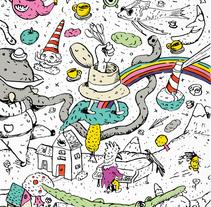 Arte para proyecto privado. Un proyecto de Diseño, Ilustración y Bellas Artes de Pablo Mieres - 29-09-2015