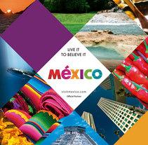 Mexico WTM London 2015. Un proyecto de Br, ing e Identidad y Diseño gráfico de CELINA SABATINI Diseño & Comunicación Estratégica - 31-08-2015
