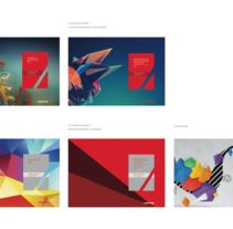 Portadas para Informe Anual de Mapfre. Un proyecto de Diseño editorial de César Martín Ibáñez  - 11-10-2015