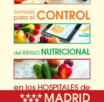 Jornada para el Control del Riesgo Nutricional. Un proyecto de Diseño gráfico de M.A. Serralvo - Lunes, 06 de octubre de 2014 00:00:00 +0200