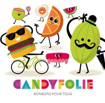 Candyfolie. A Br, ing, Identit, Design, Character Design&Illustration project by Raúl Gómez estudio - Oct 14 2015 12:00 AM