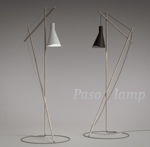 Paso lamp. A Industrial Design, 3D, Architecture, Interior Architecture, Interior Design, Furniture Design, and Product Design project by Juan Carlos Blanco - 10.15.2015