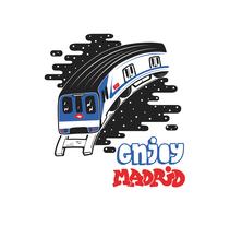 Enjoy Madrid!. Um projeto de Design de Victor Gomez de Marcos - 19-10-2015