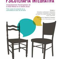 Cartel Experto Universitario Psicoterapia Integrativa, Universidad de León.. A Graphic Design project by Sara pdf         - 21.10.2015