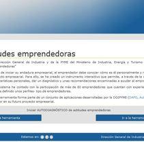 Herramienta: Autodiagnóstico - Ministerio de Industria, Energía y Turismo DGIPYME. A Web Development project by María Díaz-Llanos Lecuona         - 22.10.2015
