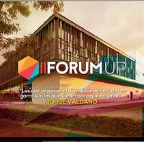 FORUM UP. A Web Design project by Juan Pablo Calderón Preciado - 19-05-2015