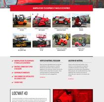 LOC'MAT43. Un proyecto de Diseño Web de La Teva Web Diseño Web  - 26-10-2015