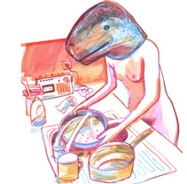 Sólo si te mueves. A Illustration project by Clara León         - 28.10.2015