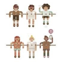 REVISTA ICON SPORT. El País. Un proyecto de Ilustración, Diseño de personajes y Diseño editorial de Del Hambre  - 07-11-2015
