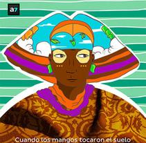 """Ilustración principal para artículo en la revista virtual """"A7"""", 2013.. Um projeto de Ilustração de Chuy Velez - 30-09-2013"""