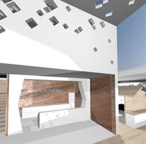 Tienda para porcelanosa. A Interior Design project by Elia Fernández Blanco         - 18.11.2015