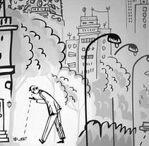 Decoración Mural Escape Room Madrid. Un proyecto de Ilustración y Diseño de interiores de Aurora Rumí         - 20.11.2015
