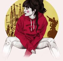 Ilustraciones para Pull&Bear. Un proyecto de Ilustración de Javier Castillejo Patón - 22-11-2015