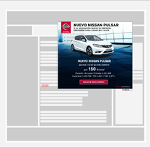 Pieza InText para Nissan (publicidad digital). A Advertising, and Graphic Design project by Miriam Prieto González         - 09.11.2015