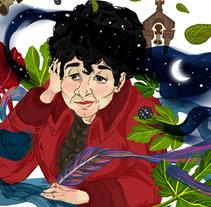 Libera Rosalía. Un proyecto de Ilustración de Aurora Cascudo Román - 14-05-2016
