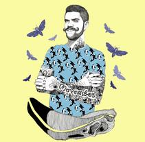 Movember 2016 el dios de los tres. A Illustration project by Javier Navarro Romero         - 29.11.2015