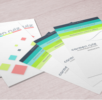 Carmen Ruiz Design. Diseño de Identidad corporativa . A Graphic Design project by Carmen Ruiz Oliva - 29-11-2015