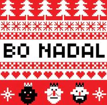 Christmas. Un proyecto de Diseño e Ilustración de Uxía Pin - 01-12-2013