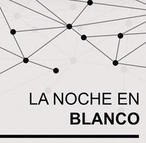 Cartel La Noche en Blanco. Um projeto de Design gráfico de Rocío González         - 03.10.2015