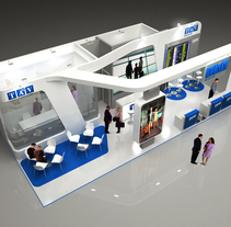 Diseño Stand TAV. A 3D, Architecture, Br, ing, Identit, Events&Interior Architecture project by Quique Cestrilli - 02-01-2015