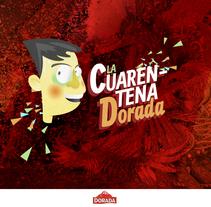 La Cuarentena Dorada. Um projeto de Publicidade, Cop e writing de Vanesa R. Agüera         - 08.02.2014