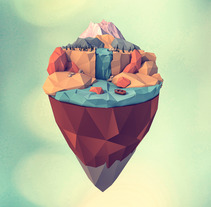 LOW POLY. A Design, Illustration, 3D, Fine Art, and Graphic Design project by Dídac Soto Valdés - 06-04-2016