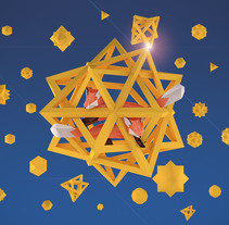 Escher´s foxes. Um projeto de 3D de Miguel Ángel Jiménez         - 14.12.2015
