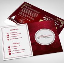 Postal Navidad 2015 Tramita. Un proyecto de Diseño gráfico de Alejandro Serrano Caballero         - 14.12.2015