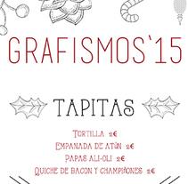 Carta mercado navideño. Un proyecto de Diseño gráfico de Rocío González         - 11.12.2015