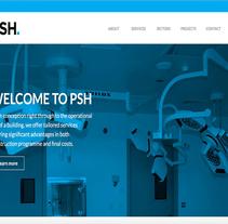 PSH Consulting. Un proyecto de UI / UX, Marketing, Diseño Web y Desarrollo Web de Antonio M. López López - 27-08-2014