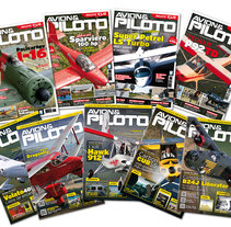 Portadas de la revista Avión & Piloto. A Editorial Design, and Graphic Design project by Juanma Vila         - 05.01.2016