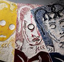 Tricromia. Un proyecto de Bellas Artes y Pintura de ezequiel casiano         - 07.01.2016