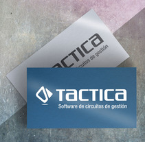TACTICA. Software branding. A Br, ing, Identit, and Graphic Design project by Sandra Mora Ayala - 09-01-2016