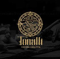 Tonalli Cocina Creativa. Um projeto de Design, Direção de arte, Br e ing e Identidade de Emmanuel Lozano         - 11.01.2016