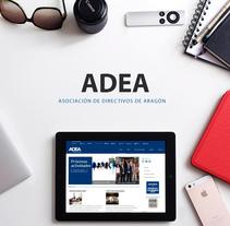 Convención de directivos ADEA. Un proyecto de Publicidad, Eventos y Diseño gráfico de Ana Mareca Miralles - 13-12-2015